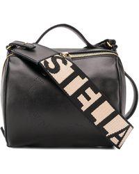 Stella McCartney Crossbodytas Met Logoband - Zwart