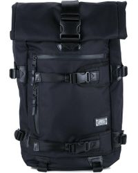 a1d215a8bf Lyst - adidas Originals Hu Roll-up Backpack in Black for Men