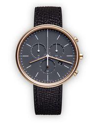 Uniform Wares 'M40' Chronograph - Schwarz