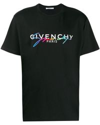 Givenchy - ダブルロゴ Tシャツ - Lyst