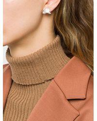 Vivienne Westwood May Belle Snail Earrings - Metallic