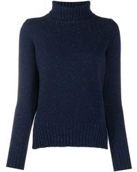 Fedeli タートルネック セーター - ブルー
