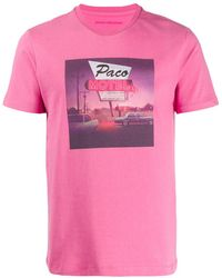 Paco Rabanne Paco Motel Tシャツ - ピンク