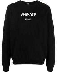 Versace Толстовка С Вышитым Логотипом - Черный