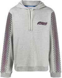 Koche Phoenix Embroidered Hooded Sweatshirt - Grey