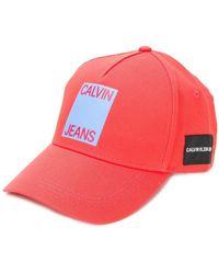 Calvin Klein - Logo Cap - Lyst