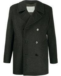 Mackintosh Manteau à boutonnière croisée - Gris