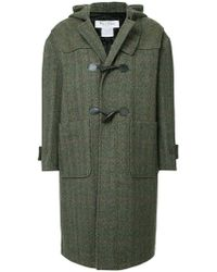 we11done - Duffle-coat à chevrons - Lyst