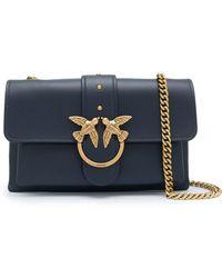 Pinko Chain-strap Shoulder Bag - Blue