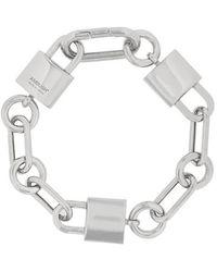 Ambush - Padlock Link Bracelet - Lyst