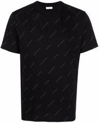 Sandro ロゴ Tシャツ - ブラック