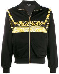 Versace - バロックロゴ ボンバージャケット - Lyst