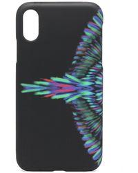 Marcelo Burlon IPhone XR-Hülle mit Flügel-Print - Schwarz