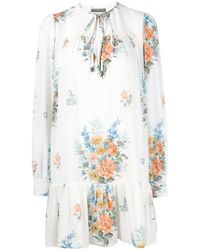 Alexander McQueen - Floral Dress - Lyst