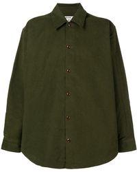 Acne Studios - Minimal Military Shirt - Lyst