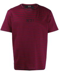 N°21 - ストライプ Tシャツ - Lyst