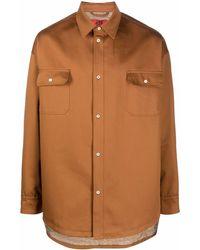 424 シャツジャケット - ブラウン