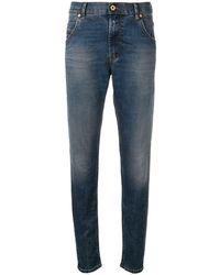 DIESEL Jeans skinny crop - Blu