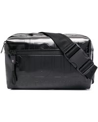 DIESEL ロゴ ベルトバッグ - ブラック