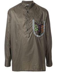 Kolor - ボタンカラー シャツジャケット - Lyst