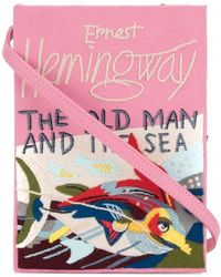 Olympia Le-Tan - The Old Man And The Sea Book Clutch - Lyst