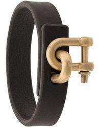 Parts Of 4 - Metallic Lock Cuff Bracelet - Lyst