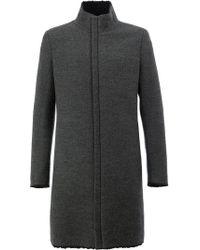 Label Under Construction - Concealed Zip Coat - Lyst