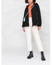 Woolrich Куртка На Молнии С Капюшоном - Черный