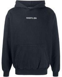 Babylon LA ロゴ パーカー - ブラック