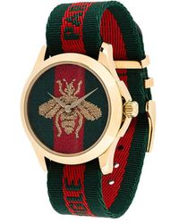 Gucci ル マルシェ デ メルヴェイユ 腕時計 - レッド