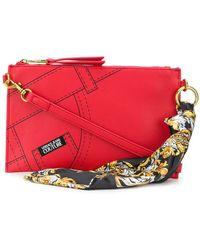 Versace Jeans Couture Клатч С Принтом - Красный