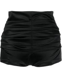 Dolce & Gabbana ハイウエスト ショートパンツ - ブラック