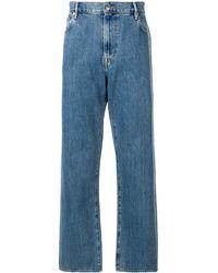 Burberry Jean ample classique - Bleu