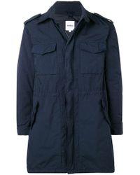 Aspesi - Flap Pocket Zipped Coat - Lyst