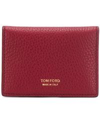 Tom Ford カードケース - レッド