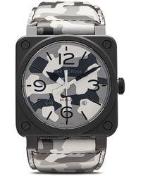 Bell & Ross Наручные Часы Br 03-92 42 Мм - Серый