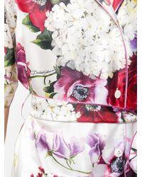 Dolce & Gabbana - ベルテッド ブラウス - Lyst