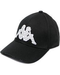 Kappa Logo-embroidered Cap - Black