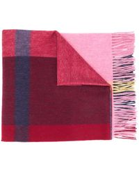 Mulberry チェック スカーフ - ピンク