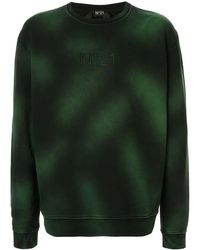 N°21 ロゴ スウェットシャツ - グリーン
