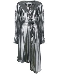 Wanda Nylon - Asymmetric Button-up Dress - Lyst