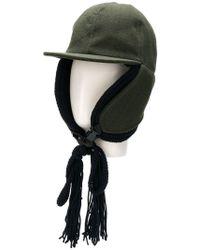 Sacai - Pinstripe Cap - Lyst
