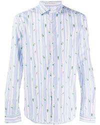Etro プリント シャツ - ホワイト