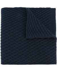 Pringle of Scotland - Textured Scarf - Lyst