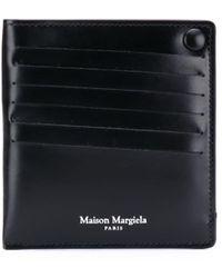 Maison Margiela Kleine Portemonnee - Zwart