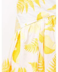 Acler Wray Tiered Dress - White