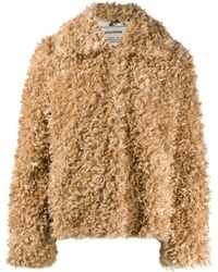 Zadig & Voltaire Faux-fur Single Breasted Jacket - Multicolour