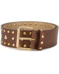 Paul & Joe Western Style Line Belt - Brown