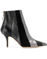 e62685c7f92 UGG ® Amal Wedge Booties in Black - Lyst