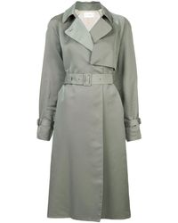 The Row Belted Trench Coat - グリーン